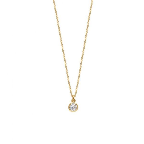 Ogrlica s kristalnim obeskom